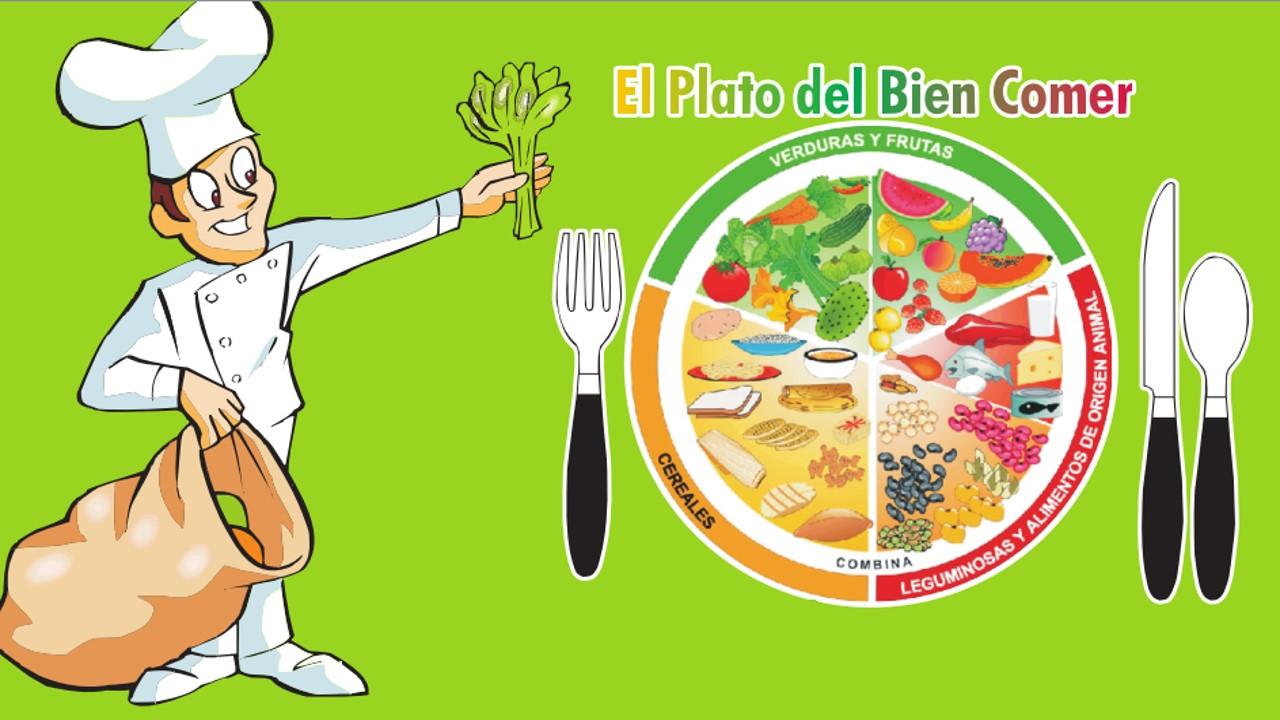 Alimentación Correcta y el Plato del Bien Comer | Secretaria de ...
